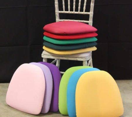chiavari cushions - colors