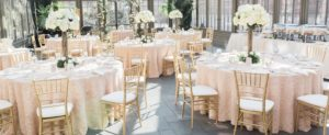 Wedding linen rental Oakland County Michigan