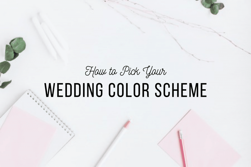 How To Pick Your Wedding Color Scheme Affairs To Remember